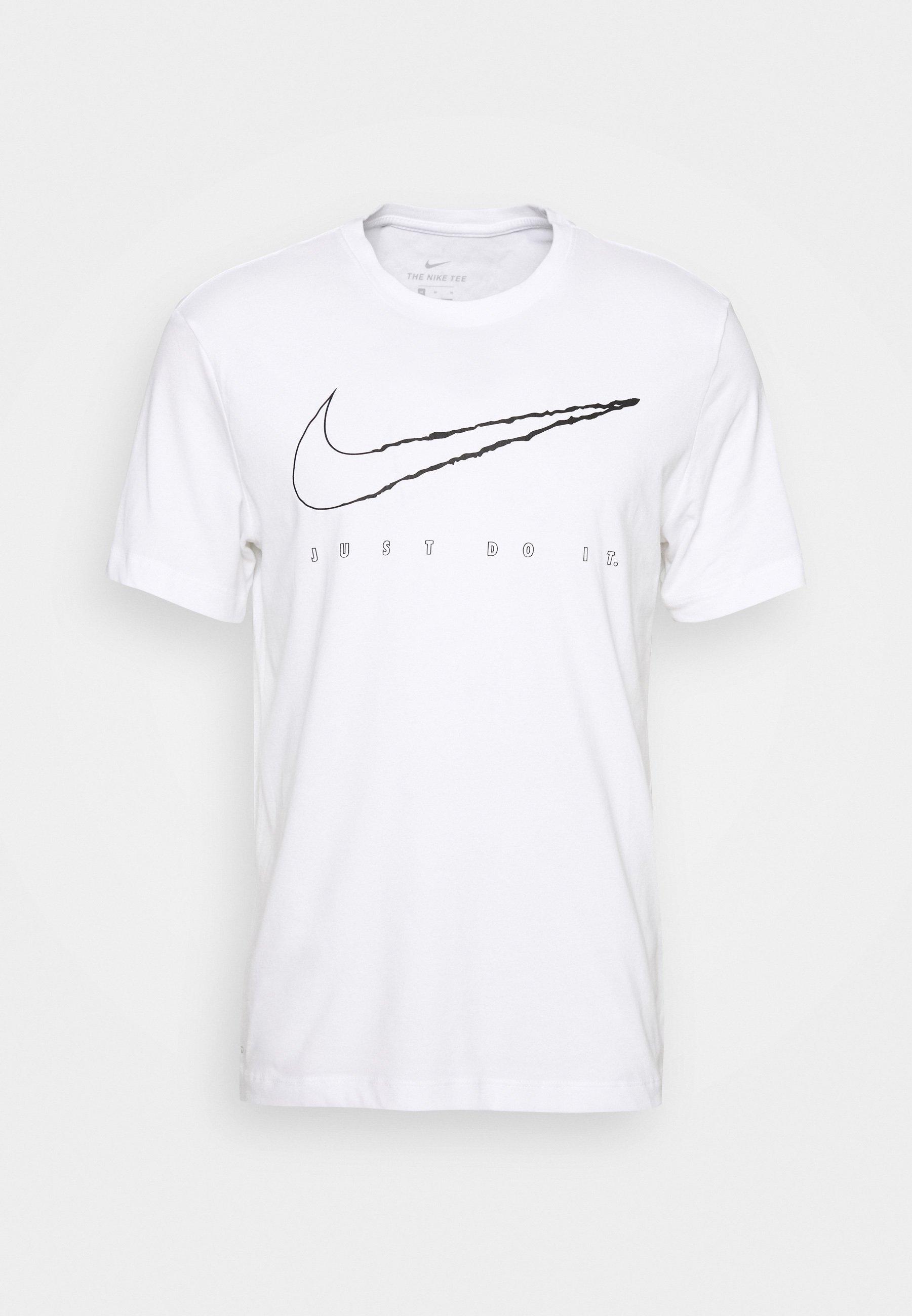 TEE VILL T shirt imprimé white