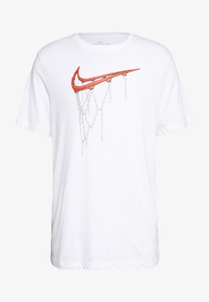 DRY TEE - Print T-shirt - white