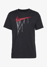 Nike Performance - DRY TEE - Print T-shirt - black - 2