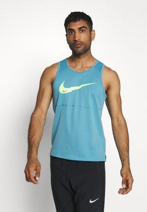 RUN TANK - Camiseta de deporte - cerulean/silver