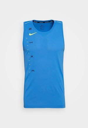 DRY MILER TANK TECH - Camiseta de deporte - pacific blue/lemon
