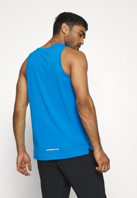 Nike Performance - DRY MILER TANK TECH - Camiseta de deporte - pacific blue/lemon - 2