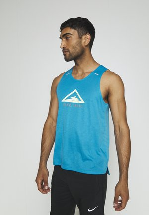 RISE 365 TANK TRAIL - Camiseta de deporte - laser blue/barely volt