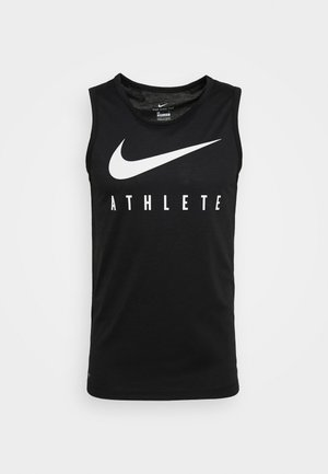 TANK ATHLETE - Sportshirt - black/white