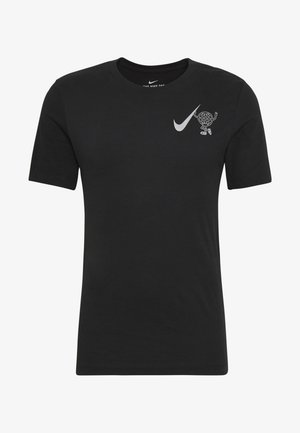 WILD RUN GLOBEY - T-shirts med print - black