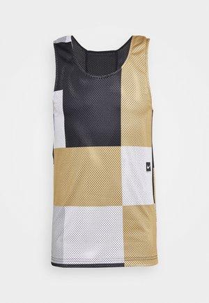 TANK - Sports shirt - black/white