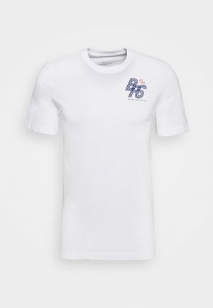 DRY TEE - Camiseta estampada - white