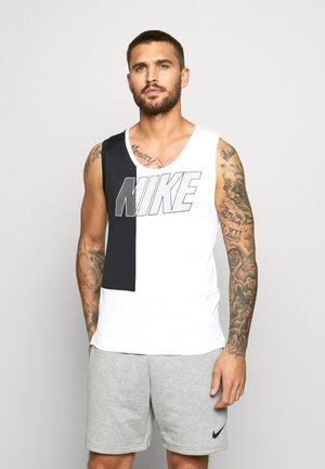 DRY SUPERSET TANK - Camiseta de deporte - white/black