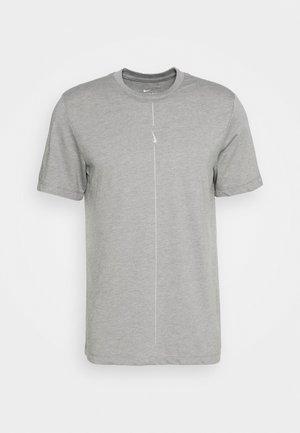 DRY TEE YOGA - T-shirt basique - iron grey/smoke grey