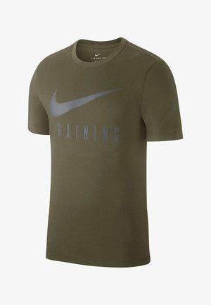 Print T-shirt - dark gray