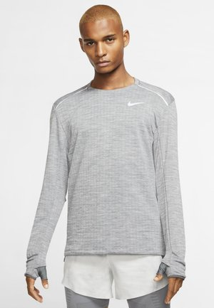 THERMA SPHERE - Long sleeved top - iron grey/heather/grey fog