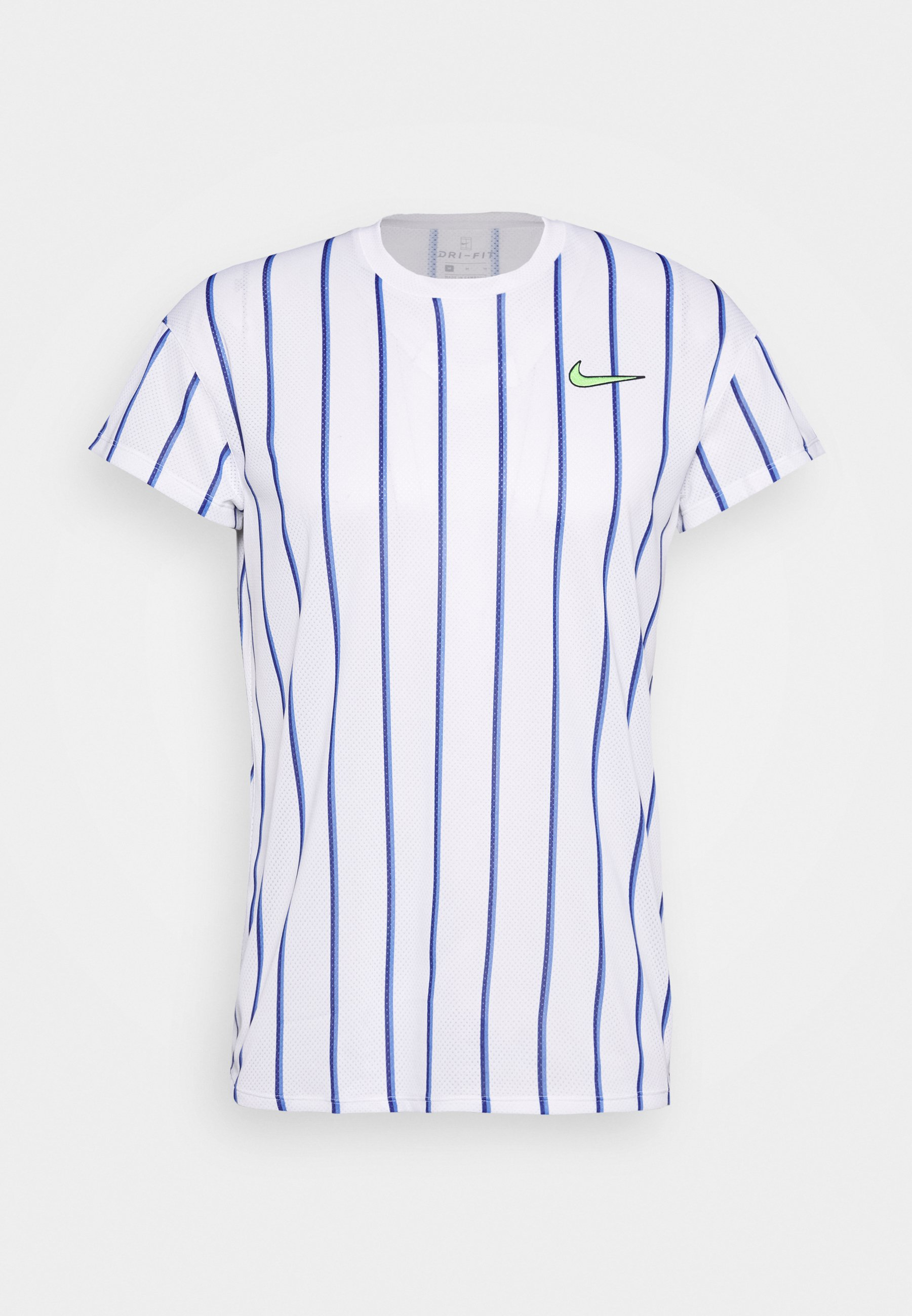 Nike Performance SLAM T shirt imprimé whiteghost green
