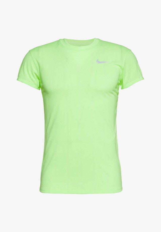 T-Shirt basic - ghost green/white
