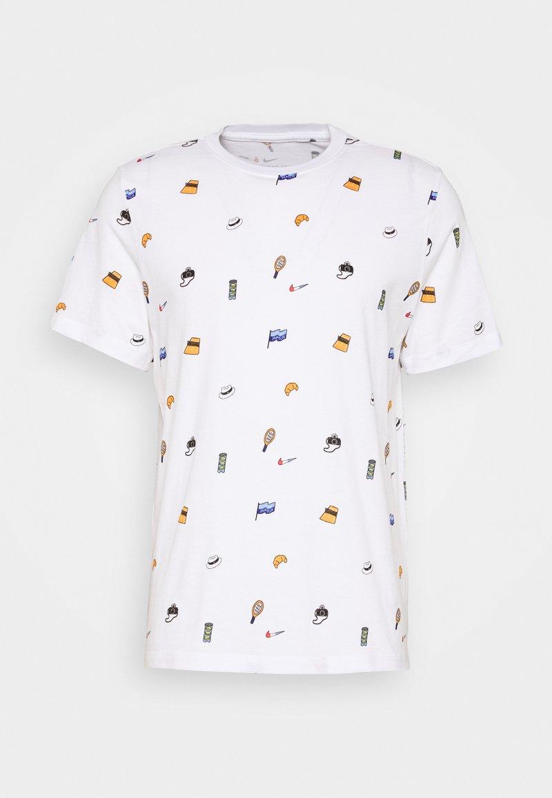 Nike Performance - TEE - T-Shirt print - white