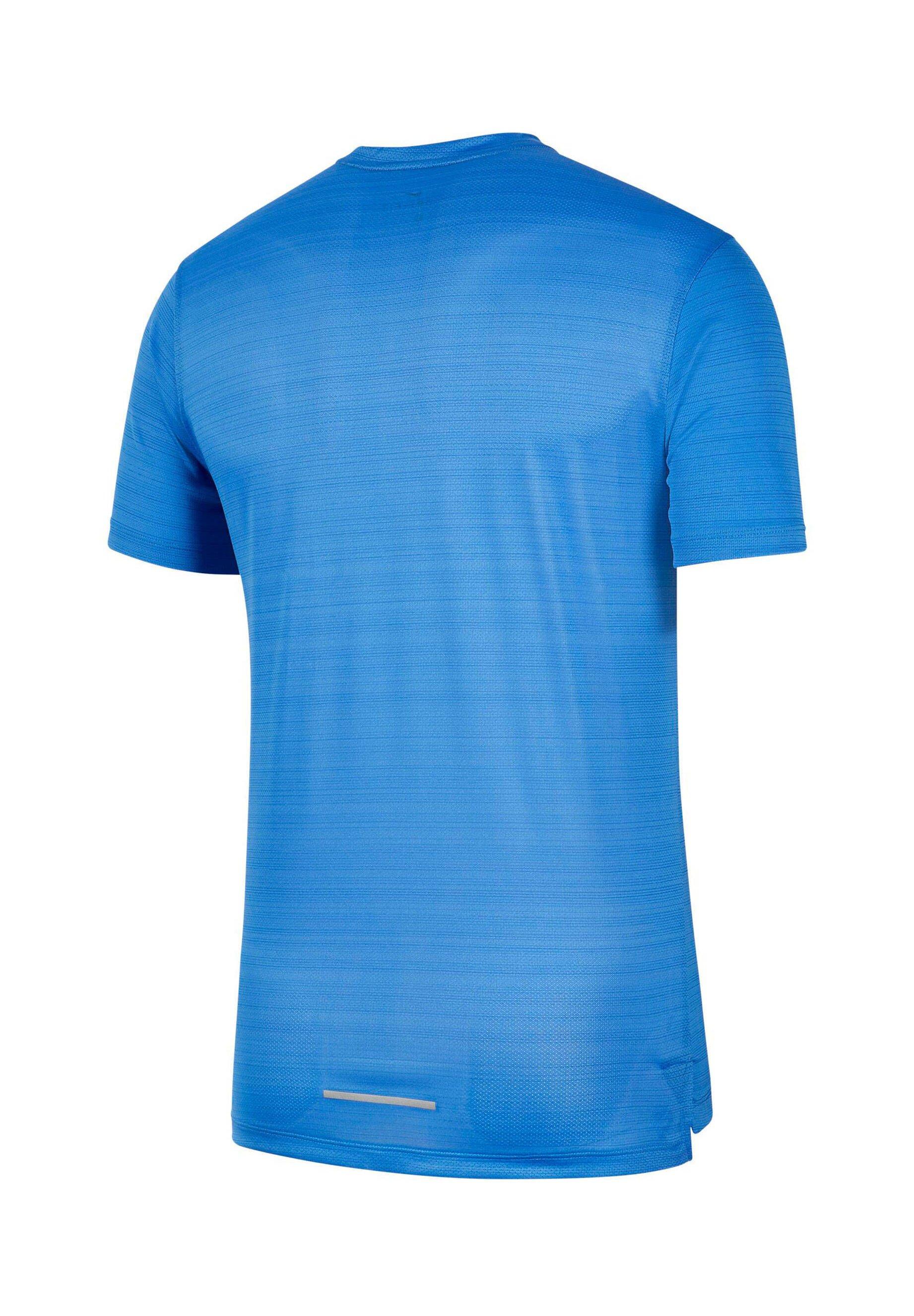 Nike Performance MILER - T-shirt z nadrukiem - royalblau (294)
