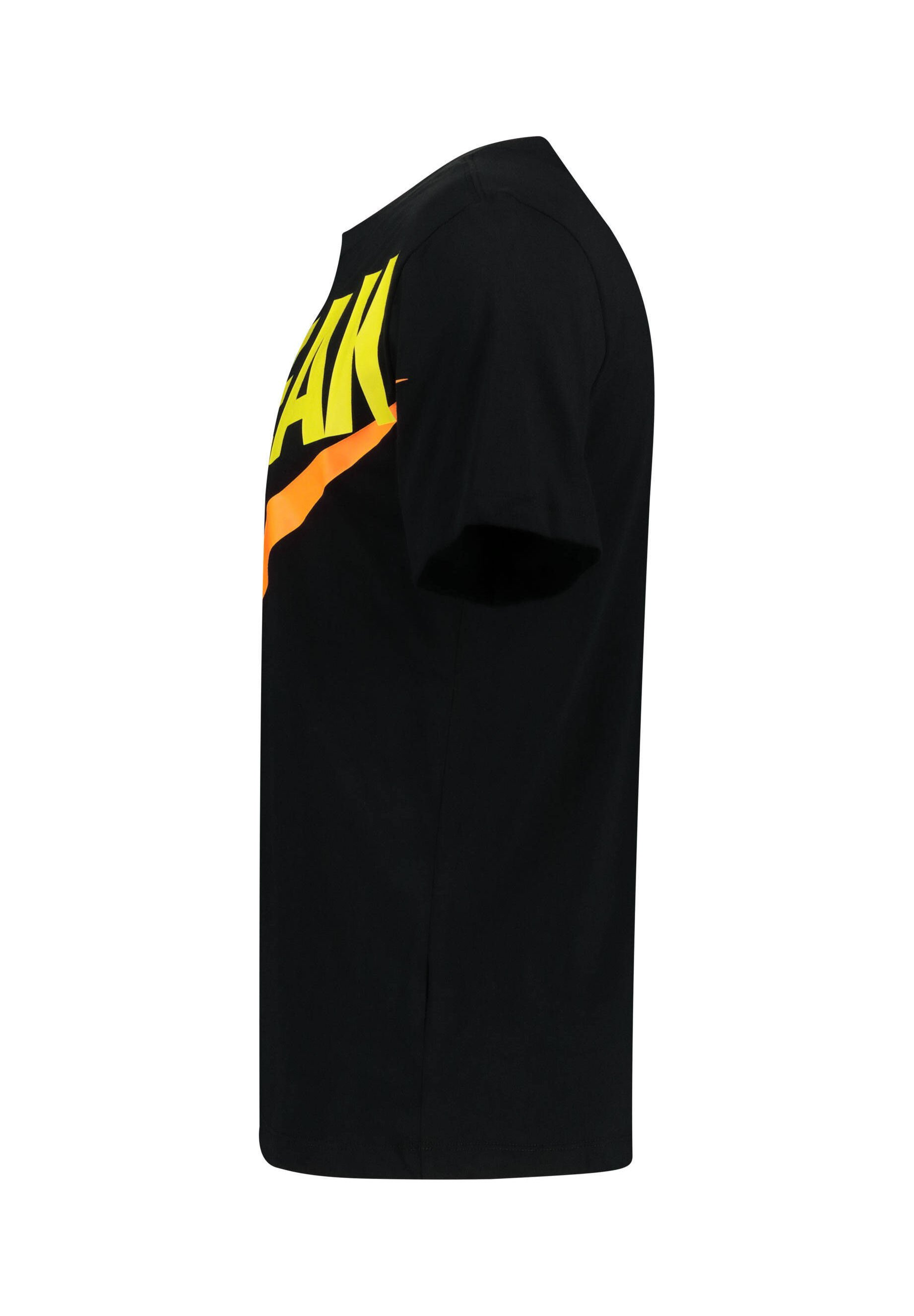 Nike Performance T-shirts Print - Black/orange
