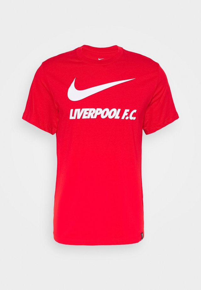 LIVERPOOL FC TEE GROUND - Club wear - university red