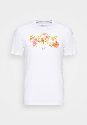 DRY TEE ELITE - T-Shirt print - white