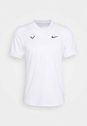 RAFAEL NADAL CHALLENGER - Camiseta estampada - white/gridiron