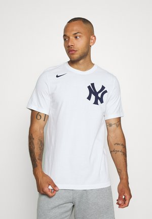 MLB NEW YORK YANKEES WORDMARK - Triko s potiskem - white