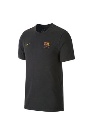 TEE-SHIRT FC BARCELONA POUR HOMME - T-shirt con stampa - dark obsidian