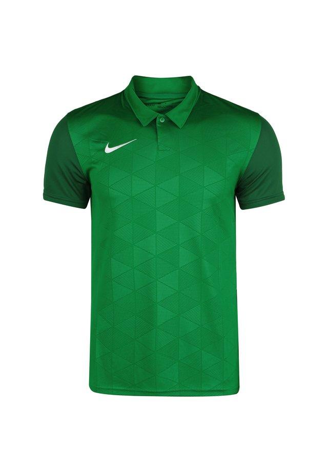TROPHY IV - Sports shirt - pine green / gorge green / white