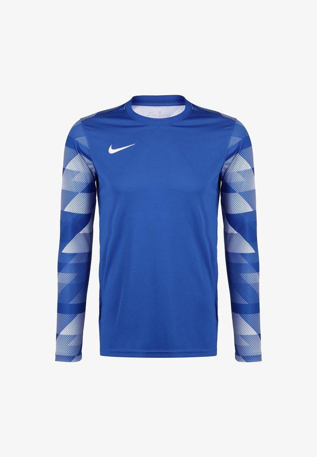 PARK IV TORWARTLONGSLEEVE HERREN - Sports shirt - royal blue / white