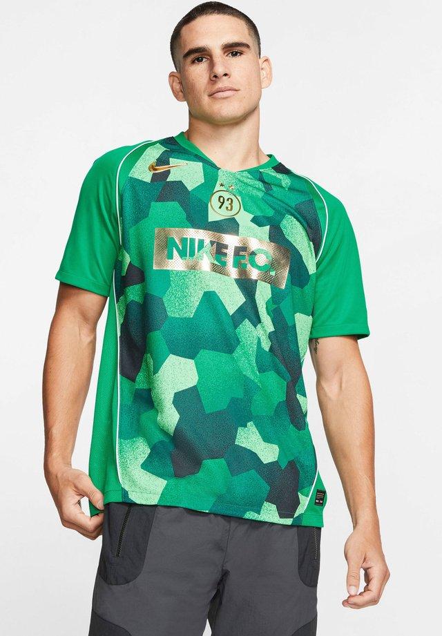 KYLIAN MBAPPÉ DRY FUSSBALLTRIKOT HERREN - Print T-shirt - lucid green/electro green/metallic gold
