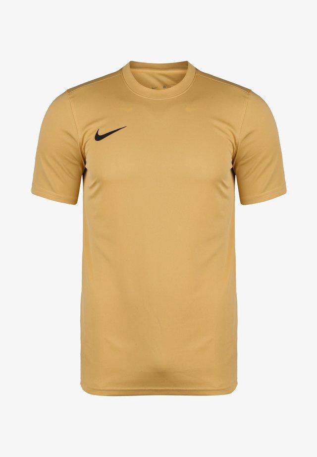 DRI-FIT PARK - Basic T-shirt - jersey gold / black