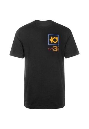 KD DRY  - T-shirt print - black