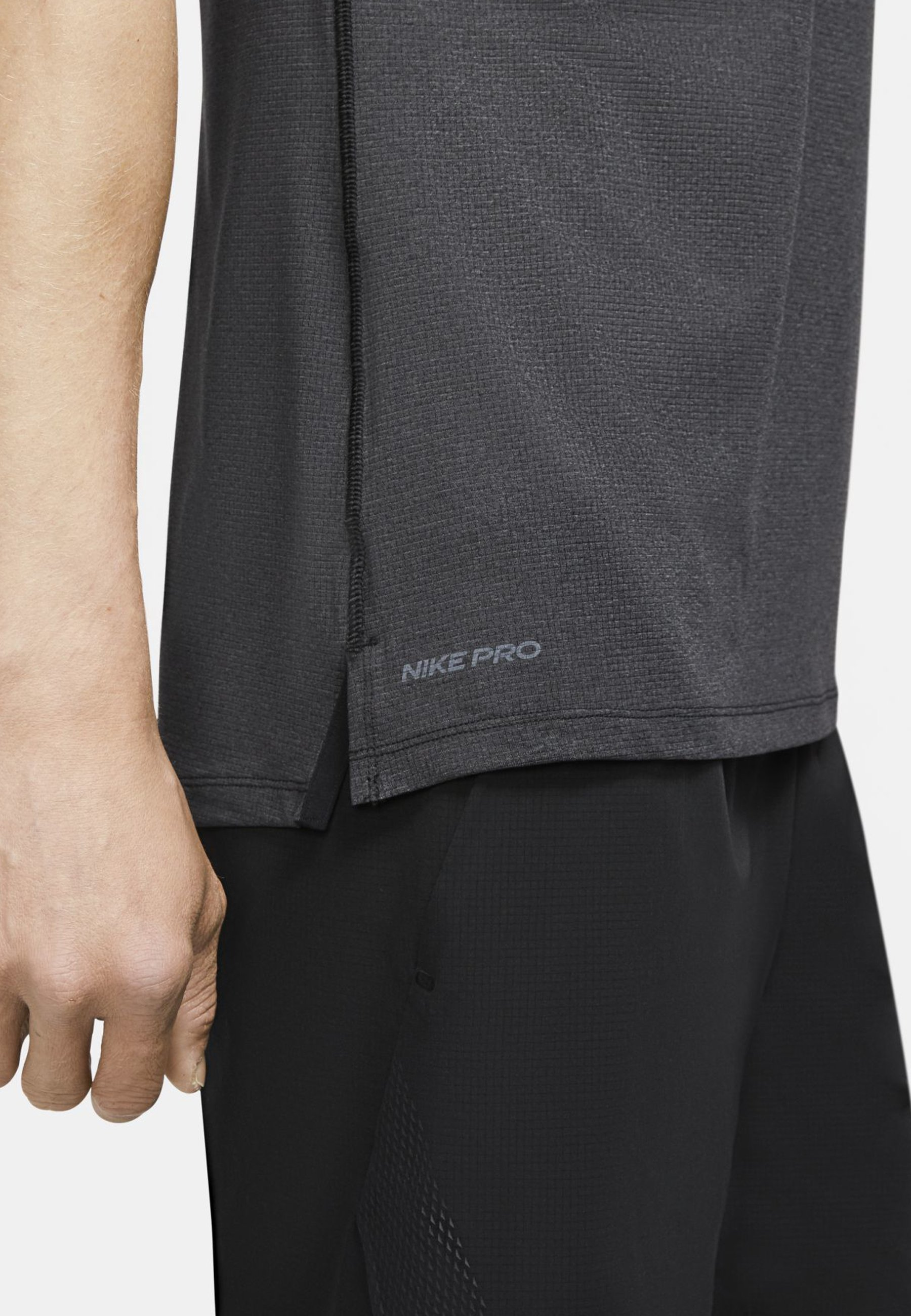 Nike Performance Pro Breathe Herren-tank - Top Black/black/white mCN873G