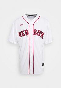 Nike Performance - MLB BOSTON RED SOX HOME - Club wear - white - 0