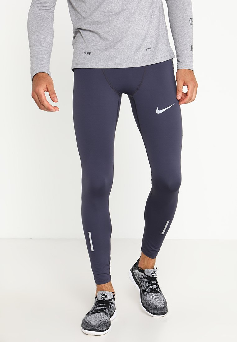 Nike Performance POWER TECH - Tights gridiron/black/reflective silver