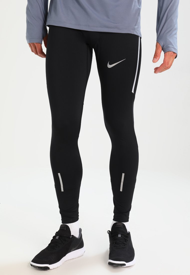 Nike Performance - POWER RUNNING - Tights - black