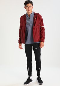 Nike Performance - POWER RUNNING - Tights - black - 1