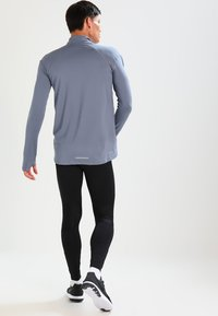 Nike Performance - POWER RUNNING - Tights - black - 2