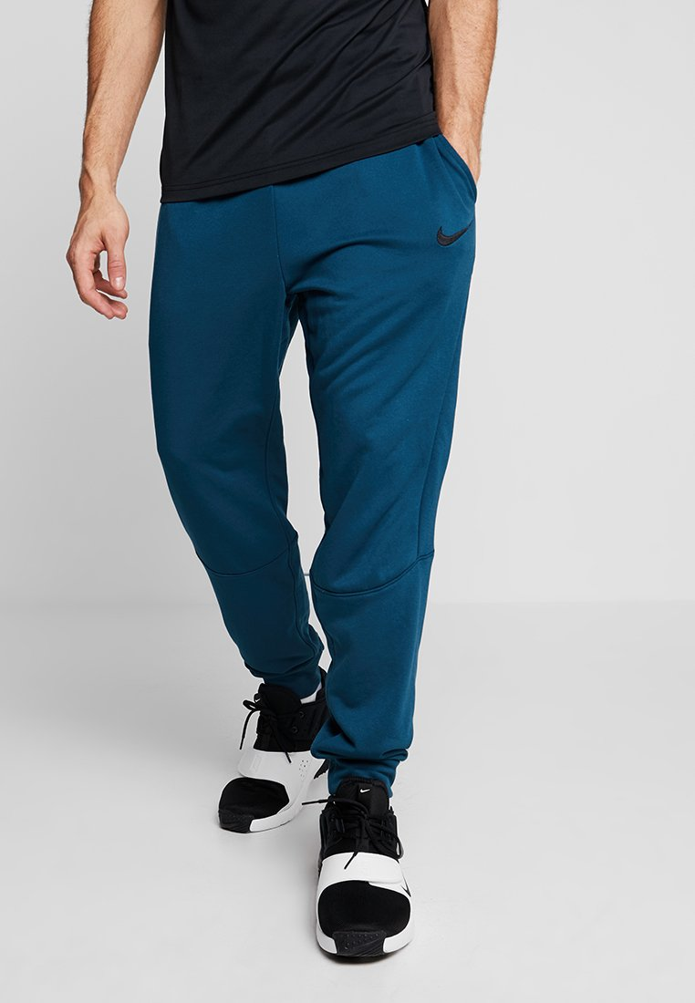 Nike Performance - DRY TAPERED PANT - Tracksuit bottoms - nightshade/black