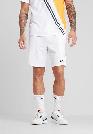 ACE SHORT - Pantalón corto de deporte - white/black/black