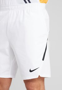 Nike Performance - ACE SHORT - Sports shorts - white/black/black - 4