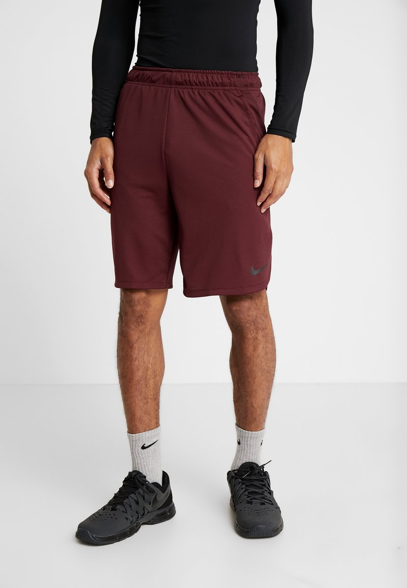 Nike Performance - DRY SHORT - Korte broeken - night maroon/black
