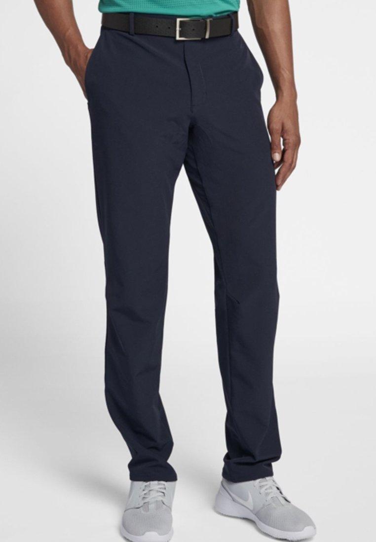 Nike Golf - FLEX PANT SLIM - Tygbyxor - dark blue