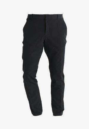 FLEX PANT SLIM - Tygbyxor - black