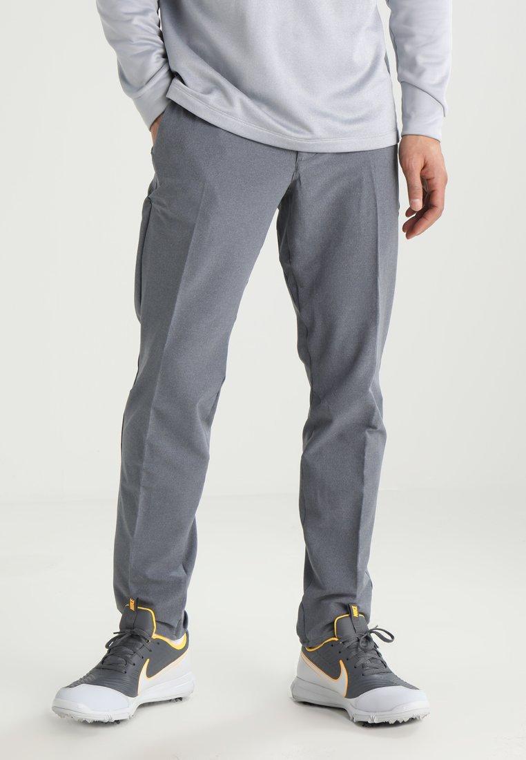 Nike Golf - FLEX PANT SLIM - Stoffhose - black heather
