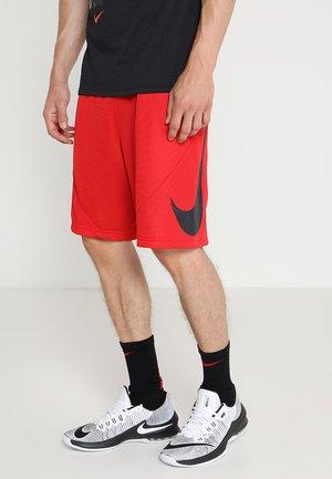 SHORT - Pantalón corto de deporte - university red/university red/black