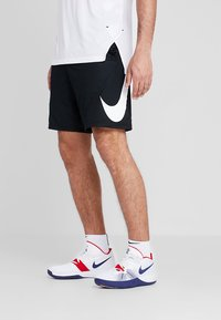 Nike Performance - SHORT - Pantalón corto de deporte - black/white - 0