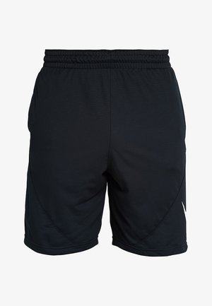 SHORT - Sports shorts - black/white