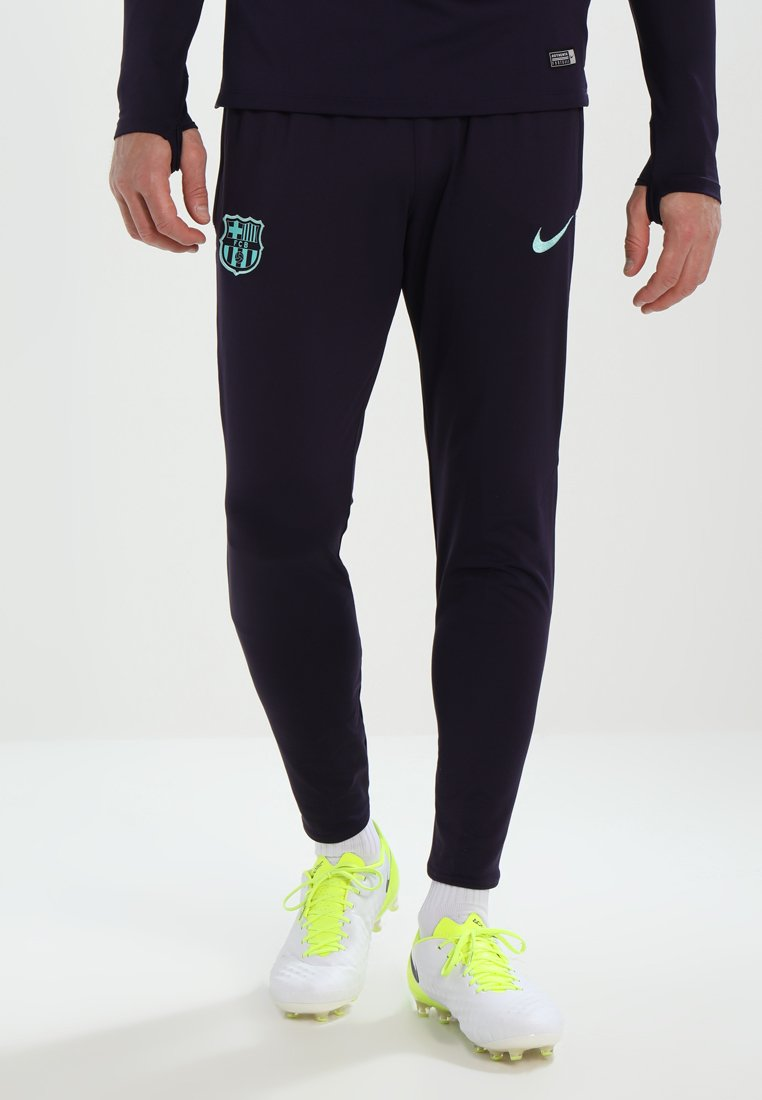 Nike Performance - FC BARCELONA DRY PANT - Vereinsmannschaften - purple dynasty/hyper turqouise