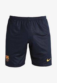 Nike Performance - FC BARCELONA - Träningsshorts - obsidian/university gold - 5