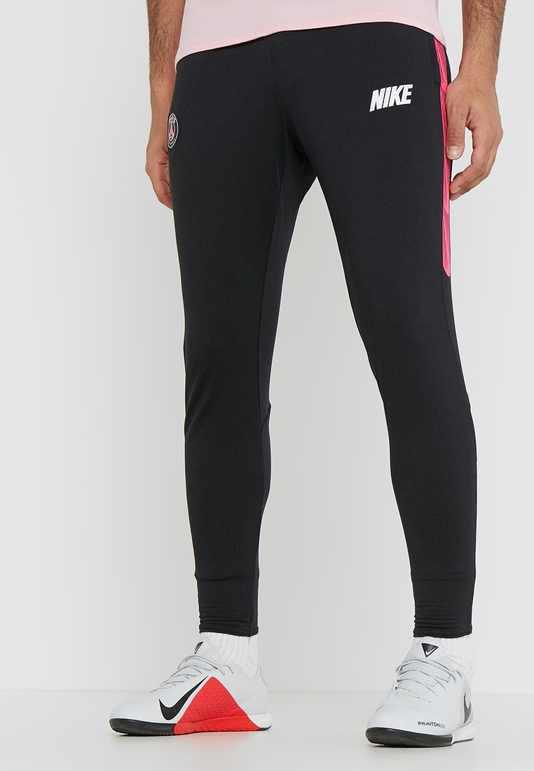 Nike Performance - PARIS ST GERMAIN DRY PANT - Fanartikel - black/hyper pink/white