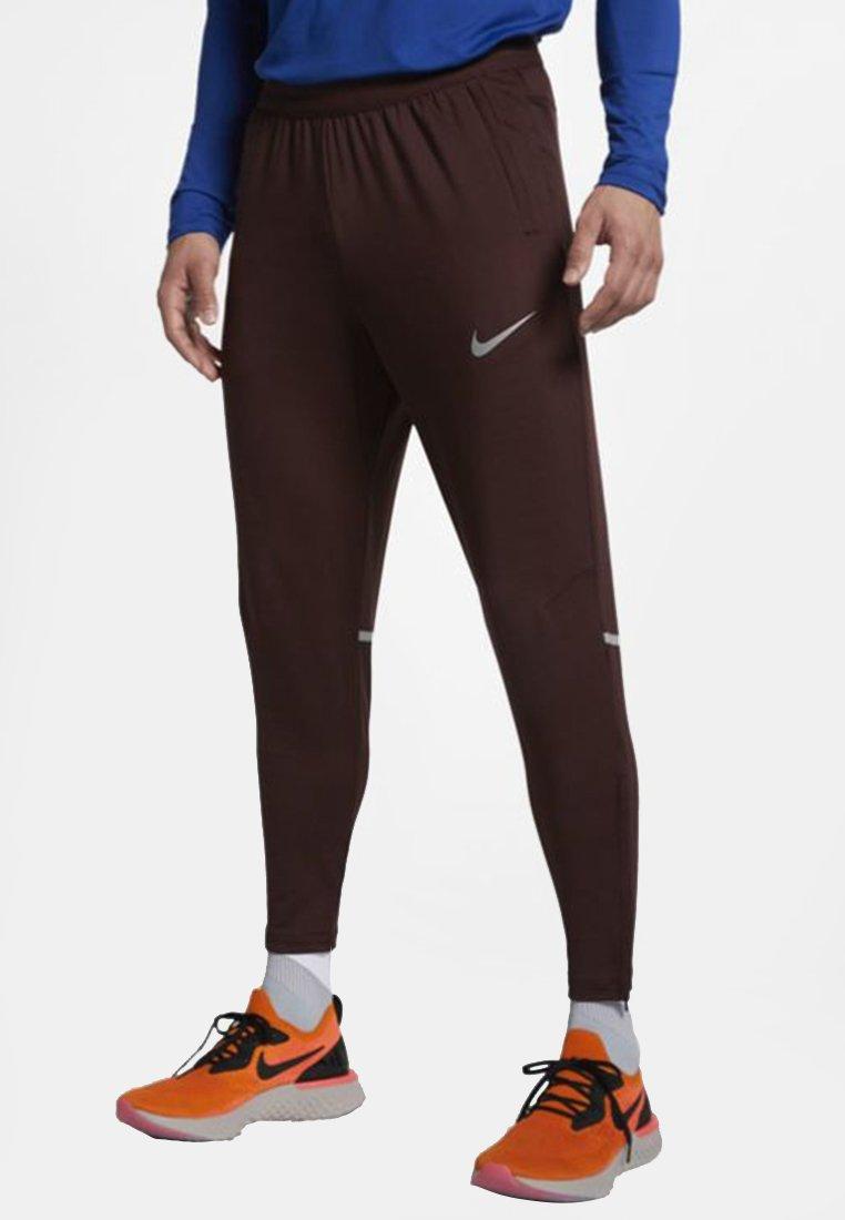 Nike Performance PHENOM- Pantalon de survêtement bordeaux